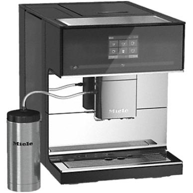 Kavos aparatas Miele CM 7500 juodas